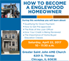 HOW TO BECOME  A ENGLEWOOD  HOMEOWNER
