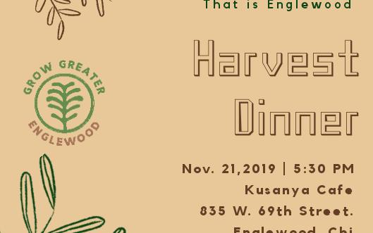 Grow Greater Englewood Harvest Dinner