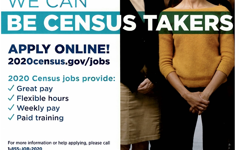 The U.S. Census Bureau is Hiring!