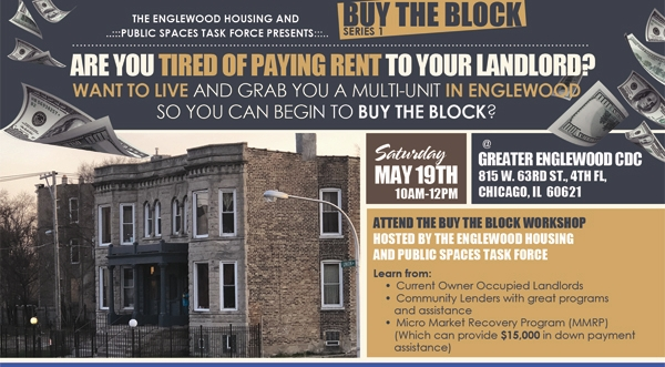 Buy the Block Workshop - Step One | Grab Your First Property in Englewood