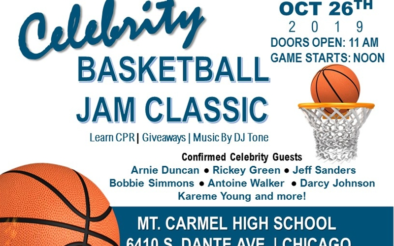 Celebrity Basketball Game to Salute First Responders, Teach CPR