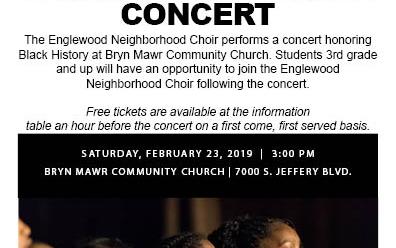Chicago Children's Choir Black History Month Concert