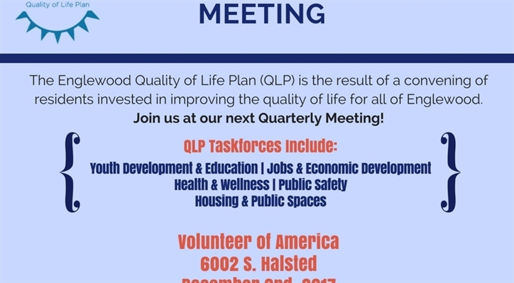 Englewood Quality of Life Plan II Celebrates Its One Year Anniversary