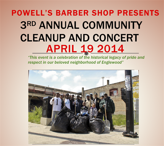 3rd Annual Community Clean-up Celebration & Concert