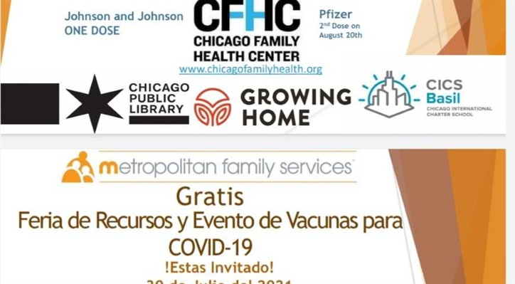 FREE Vaccine Event & Resource Fair!