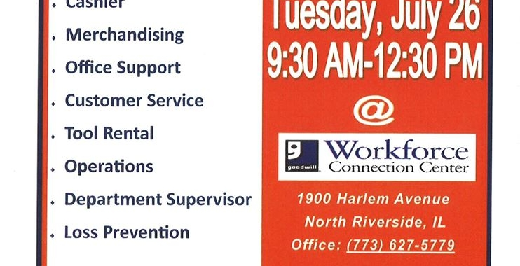 July 25th Job Listings — Englewood Portal