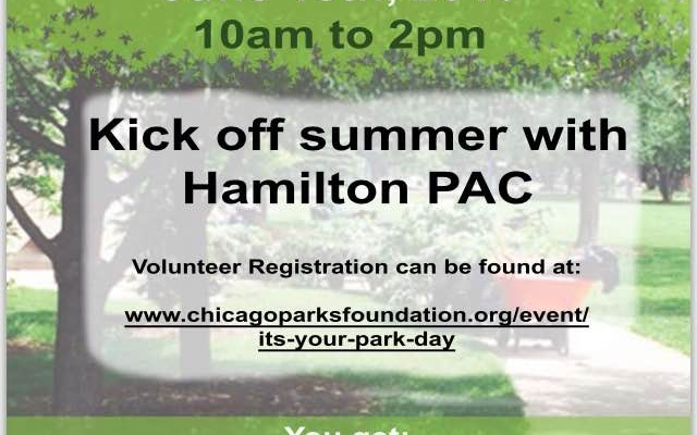 It's Your Park Day at Hamilton Park Cultural Center - June 18th
