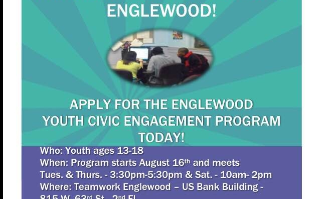 Earn Service Learning Hours in Englewood!