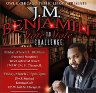 OWL & Chicago Public Library Presents: J.M. Benjamin