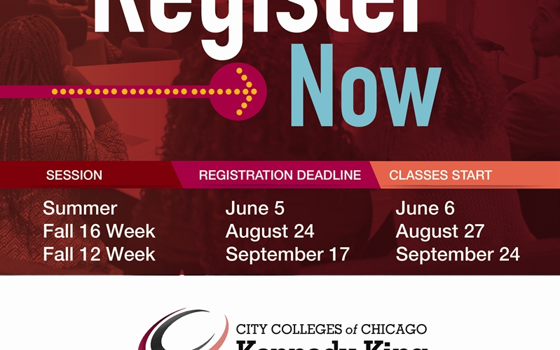 Fall 2018 Registration for Kennedy-King College