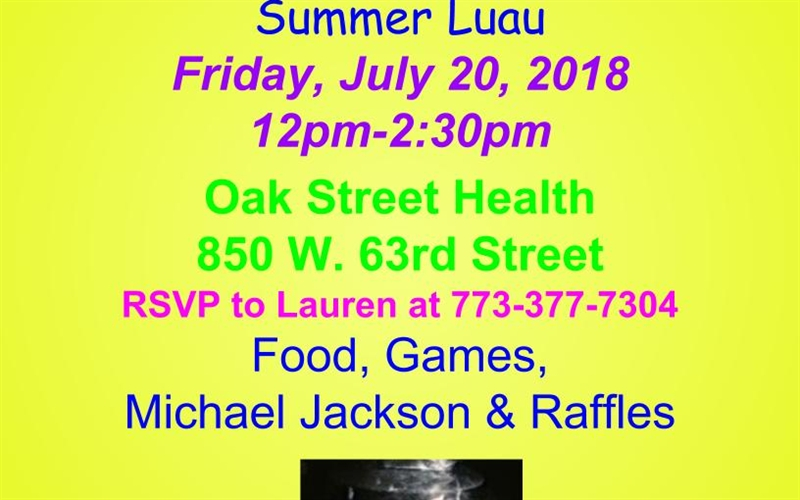 Oak Street Health Summer Luau