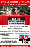 Englewood Virtual Village Meeting hosted by RAGE