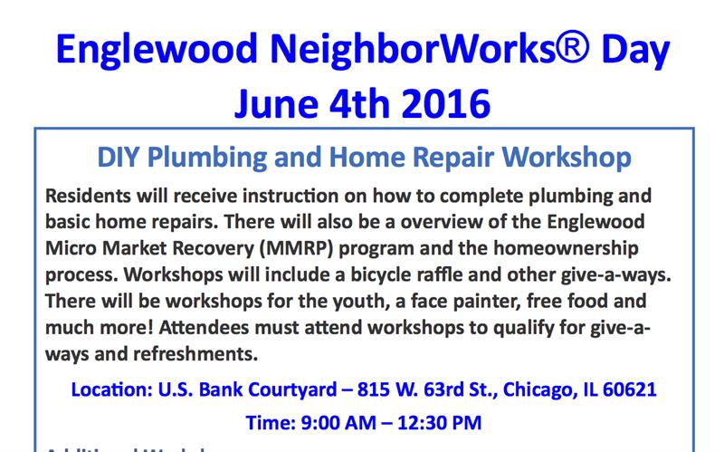 Englewood NeighborWorks(R) Day 2016-June 4th