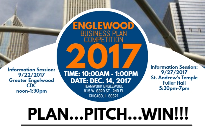 2017 Englewood Quality of Life Business Plan Competition
