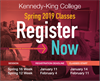 Still time to Register at Kennedy-King College