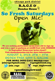 RAGE Partners with Donda's House to Host Open Mic at So Fresh Saturdays!