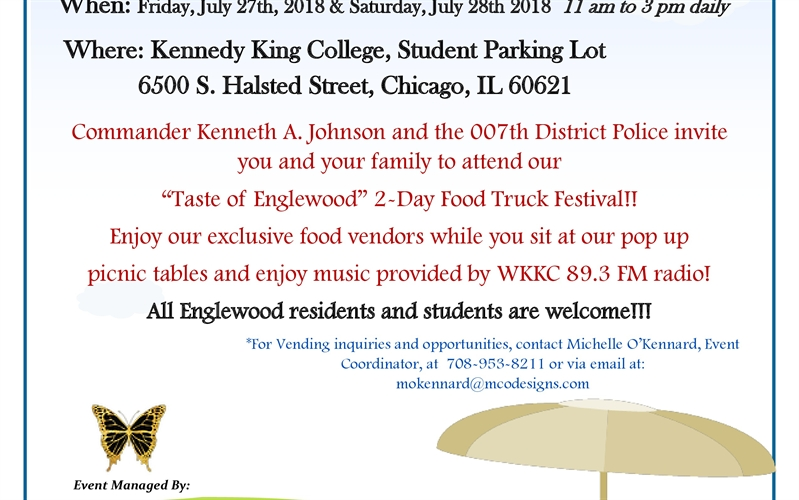 The Taste of Englewood Food Truck Festival