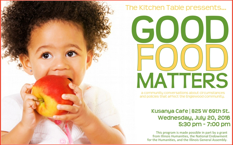 The Kitchen Table: Good Food Matters