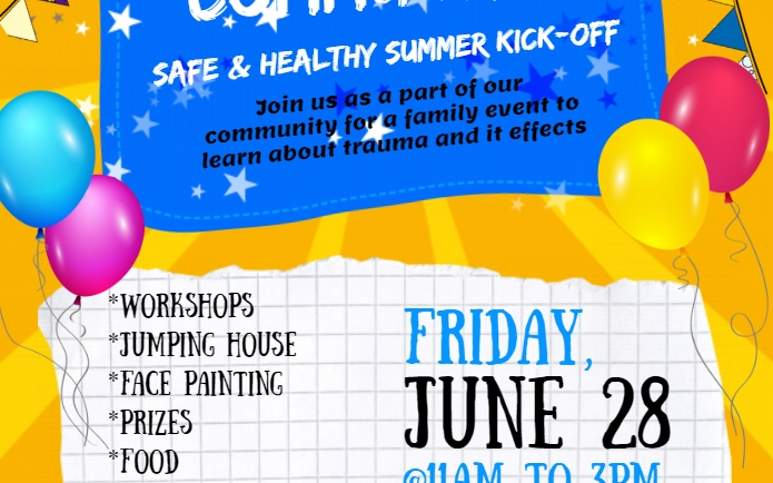 Family & Community Safe & Healthy Summer Kick-Off