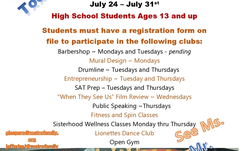 Urban Prep Summer Camp Programs