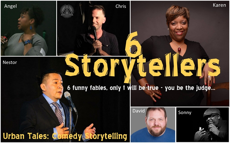 Urban Tales: Comedy Storytelling