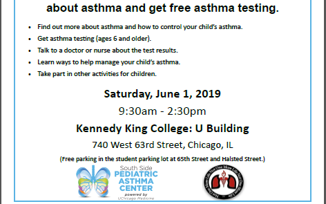 Asthma Testing and Education
