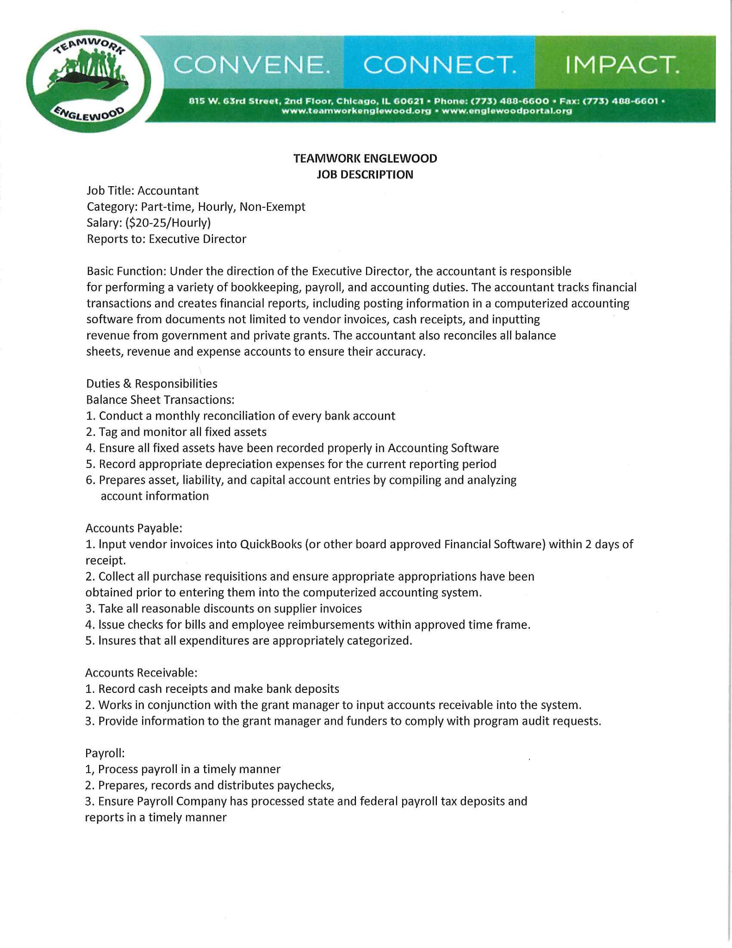 Teamwork Englewood is seeking an Accountant — Englewood Portal