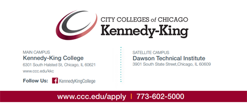 Still Time To Register At Kennedy King College Englewood Portal